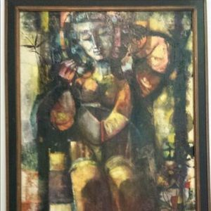 Pablo Forbes Spanish Oil Painting RUTH 1963